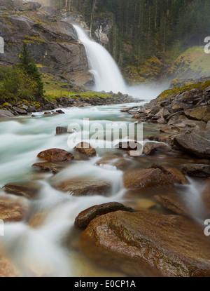 Krimml Waterfalls, Krimml, Gerlos Pass, Pinzgau, Salzburg, Austria