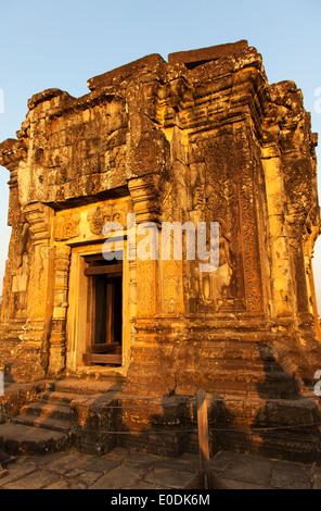 Phnom Bakheng Temple, Angkor, Cambodia - Stock Photo