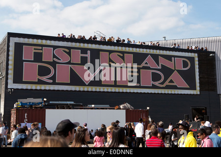 Streetfest a one day urban culture festival, London, UK. 4th May 2014. - Stock Photo