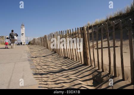 Noordwijk aan Zee, Noord Holland, Netherlands - Stock Photo