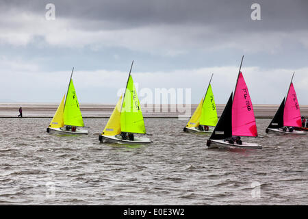 West Kirby, Liverpool. 10th May, 2014.  British Open Team Racing Championships Trophy 2014.  Sailing's Premier League - Stock Photo