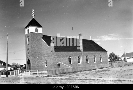 02. An unknown Lethbridge church - Stock Photo