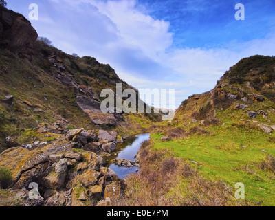 La Arboleda/Zugaztieta Park - recreational area in Valle de Trapaga near Bilbao, Biscay, Basque Country, Spain - Stock Photo