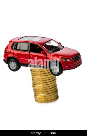 Rising costs with the car by workshop costs., Steigende Kosten beim Auto durch Werkstattkosten. - Stock Photo