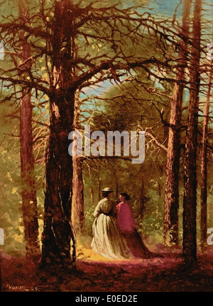 Waverly Oaks 1864 Winslow Homer 1836-1910 American United States of America - Stock Photo