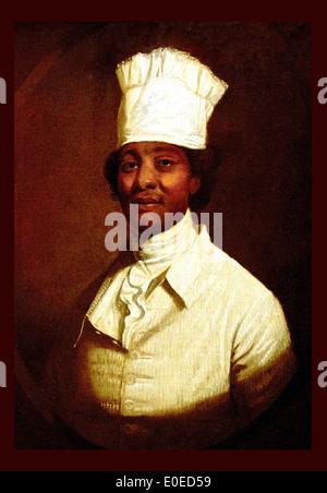 Portrait of George Washington's Cook ca. 1795-97 Gilbert Stuart 1755-1828 American United States of America USA - Stock Photo