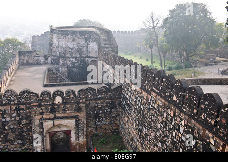 Jhansi  is a historic city of northern India, located in the region of Bundelkhand on the banks of the Pahuj or - Stock Photo