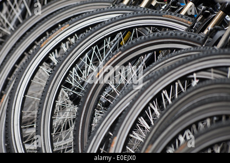 Fahrräder - Bicycles Stock Photo