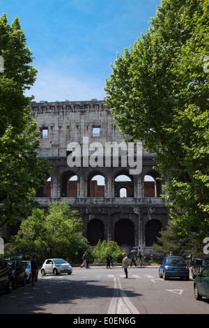 Kolosseum, Rom, Italien - Colosseum, Rome, Italy Stock Photo
