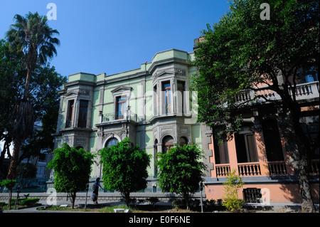 Zona Rosa neighborhood of Mexico City, Mexico - Stock Photo