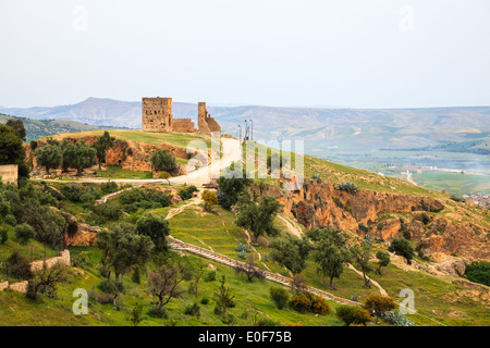 View at the viewpoint in fez, morocco - Stock Photo
