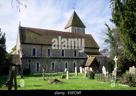Davington Church at Faversham, Kent - Stock Photo