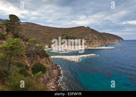 Capraia Island, Italy - Stock Photo