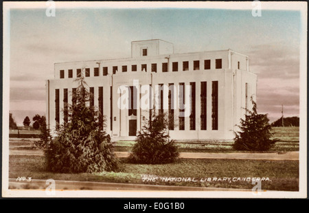 The National Library, Canberra, [1930s] - Stock Photo