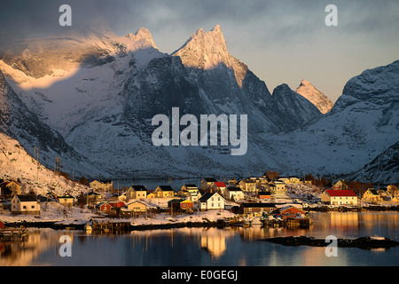 Lofoten - Pure, Lofoten - Reine - Stock Photo