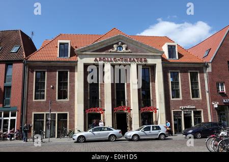 Apollo Theater in Munster, North Rhine-Westphalia, Germany - Stock Photo