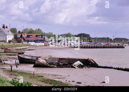 Orford Quay Suffolk. UK. - Stock Photo