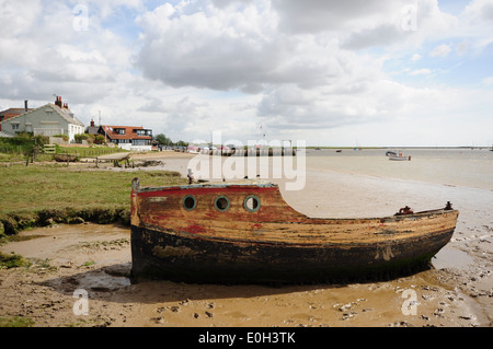 Orford quay Suffolk - Stock Photo