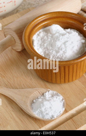 Sodium bicarbonate (baking soda), chemical structure