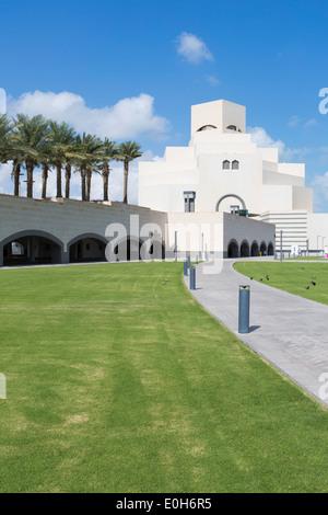 Museum of Islamic Art, Doha, Qatar, Arabian Peninsula - Stock Photo