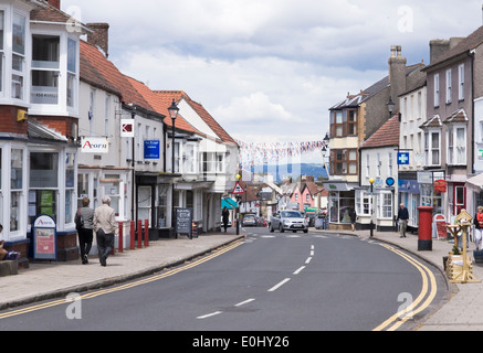 Thornbury, a small market town in Gloucestershire England - Stock Photo
