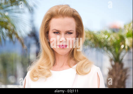 Cannes, France. 14th May, 2014. Nicole Kidman attends a photocall for the film 'Grace de Monaco', at the 68th Cannes - Stock Photo