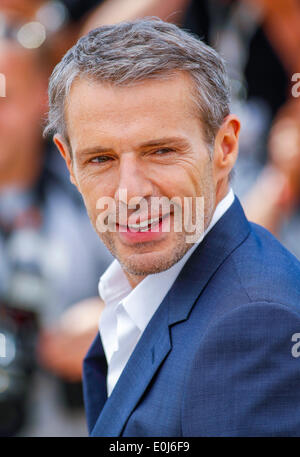 LAMBERT WILSON MASTER OF CEREMONIES PHOTOCALL. 67TH CANNES FILM FESTIVAL CANNES  FRANCE 14 May 2014 - Stock Photo
