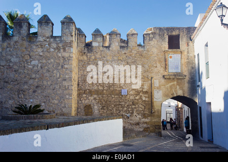 Vejer de la Frontera, Cadiz Province, Andalusia, Spain. Puerta de la Segur. - Stock Photo