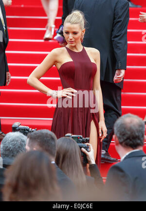 BLAKE LIVELY GRACE OF MONACO PREMIERE. 67TH CANNES FILM FESTIVAL CANNES  FRANCE 14 May 2014 - Stock Photo