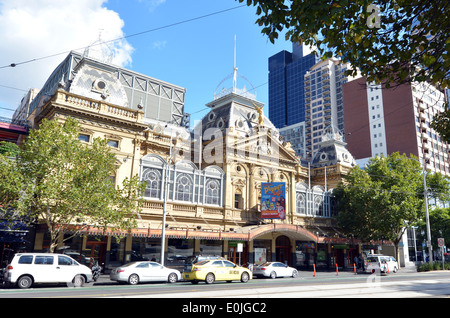 Princess Theatre Melbourne.It's a 1488-seat theatre in Melbourne, Australia.listed by the National Trust of Australia - Stock Photo