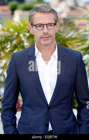Lambert Wilson, Master of Ceremonies, attends a photocall at the 67th Cannes Film Festival on May 14, 2014/picture - Stock Photo