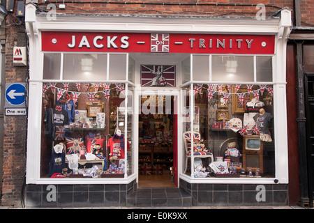 Jacks on Trinity, Trinity Street, Cambridge, England, Britain, UK - Stock Photo