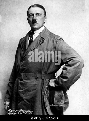 Original portrait of Adolf Hitler - Stock Photo