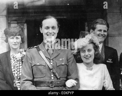 Jan. 01, 1938 - London, England, United Kingdom - The Kennedy family is a prominent Irish-American family in American - Stock Photo