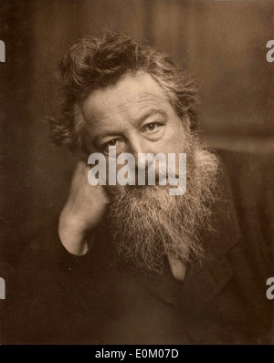 William Morris, English artist - Stock Photo