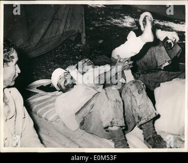 Aug. 08, 1953 - Greek Earthquake Dissater Latest Pictures: six days after the first shocks, Argostoli, capitol of - Stock Photo