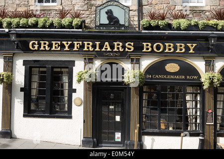 'Greyfriars Bobby' bar in Edinburgh, Scotland - Stock Photo