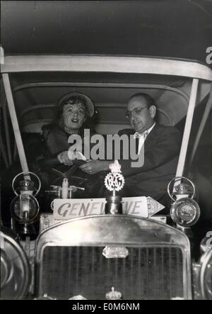 Oct. 30, 1953 - Henry Cornelius introduces ''Genevieve'': Henry Cornelius, producer of the famous film ''Passport - Stock Photo