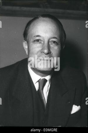 May 05, 1955 - M. Francois Seydoux Appointed French Ambassador to Vienna M. Francois Seydoux, director of European - Stock Photo