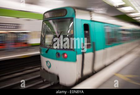 Metro, Paris, Frankreich - Metro, France, Paris