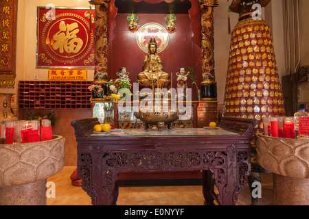 Kuan Yin statue at Teo-Chew Temple, Taoist and Vietnamese Temple in Southwest Houston, Texas.