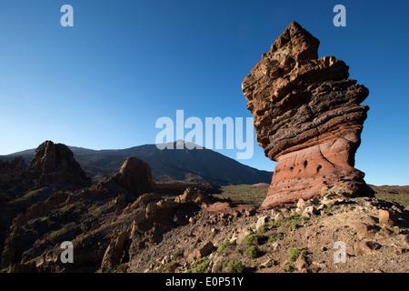 Roque de Garcia, Pico del Teide, Tenerife, Canary Islands, Spain - Stock Photo