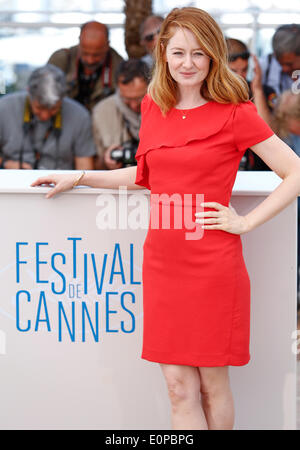 MIRANDA OTTO THE HOMESMAN. PHOTOCALL. 67TH CANNES FILM FESTIVAL CANNES  FRANCE 18 May 2014 - Stock Photo