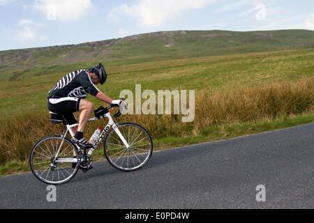 Sleightholme Moor, Arkengarthdale,  Yorkshire Dales National Park, UK . 18th May, 2014.  1000 riders took part in - Stock Photo