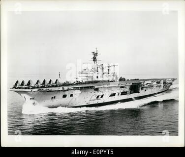 May 05, 1957 - British Squadron to visit American waters: The British Squadron at the International Naval Review - Stock Photo