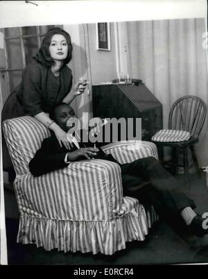 Mar. 03, 1959 - Prince Henry Kimera Returns from Honeymoon.: Prince Henry Kimera, 31-year old brother of King Freddie - Stock Photo