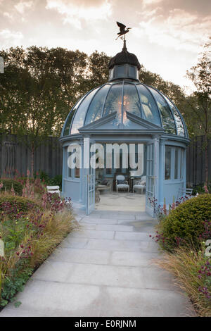 London, UK. 19th May, 2014. RHS Chelsea flower show 2014 Khora Ltd Trade Stand Credit:  A Garden/Alamy Live News - Stock Photo