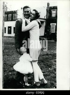 errol flynn, 1959 Stock Photo: 211961006 - Alamy