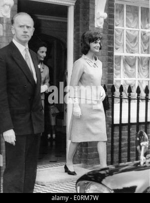 Jan. 01, 1960 - Hyannis, Massachusetts, U.S. - File Photo: circa 1960. JACKIE KENNEDY wife of JOHN FITZGERALD KENNEDY - Stock Photo