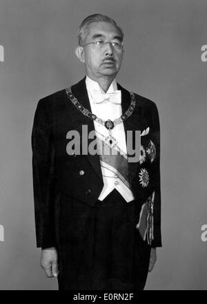 Portrait of Hirohito the Emperor of Japan